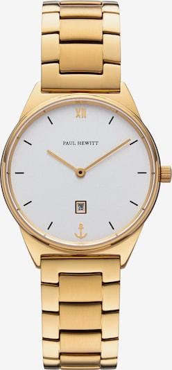 Paul Hewitt Uhr in gold / weiß, Produktansicht