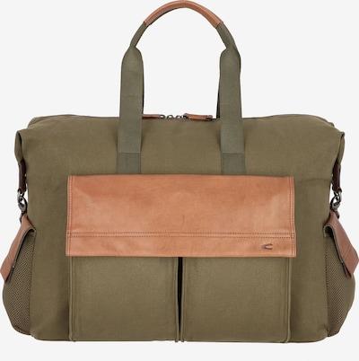 CAMEL ACTIVE Tasche in braun / grün / khaki, Produktansicht
