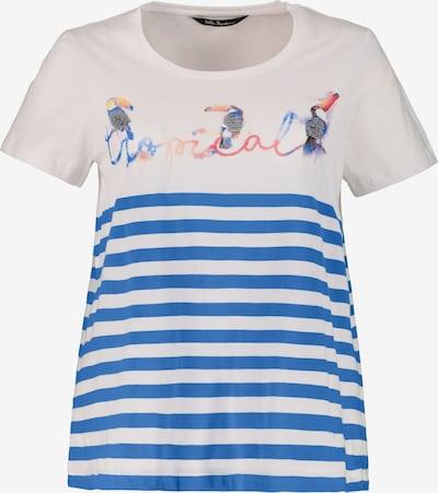 Ulla Popken Shirt in blau / weiß, Produktansicht