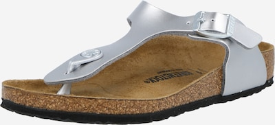 BIRKENSTOCK Sandale 'Gizeh' in silber, Produktansicht