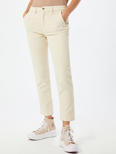 TOM TAILOR DENIM Broek in de kleur Crème, Modelweergave