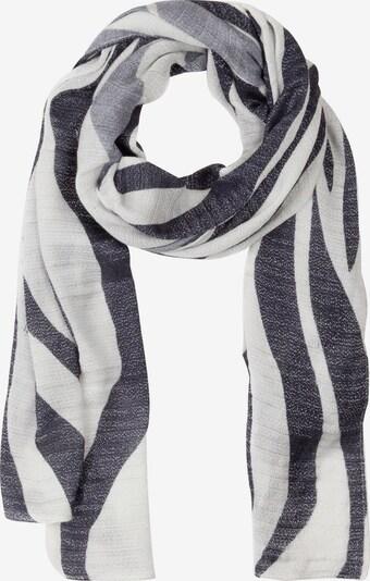 Ulla Popken Schal in schwarz / weiß, Produktansicht