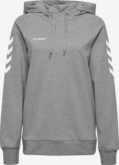 Hummel Sportsweatshirt in grau / weiß, Produktansicht