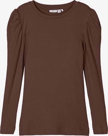 NAME IT Shirt 'KABEXI' in Braun