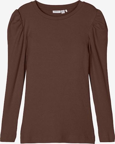 NAME IT T-Shirt 'KABEXI' en chocolat, Vue avec produit