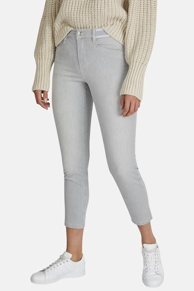 Angels Jeans in hellgrau / weiß, Modelansicht