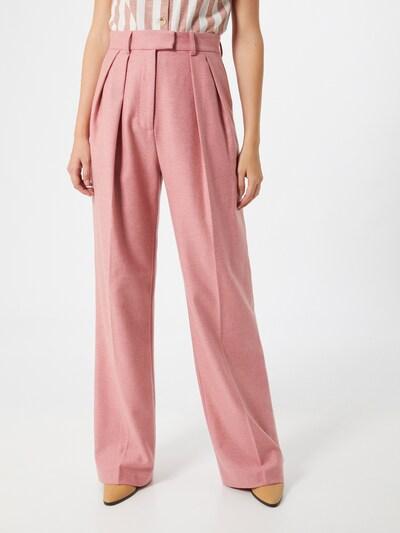 PAUL & JOE Pantalon à pince en rosé, Vue avec modèle
