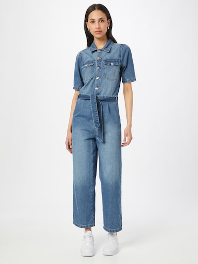 Tuta jumpsuit 'SUNDA' ONLY di colore blu denim, Visualizzazione modelli
