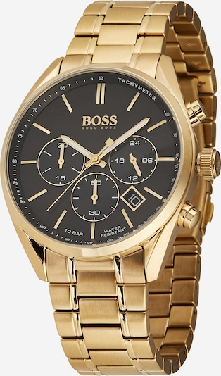 BOSS Analog watch 'CHAMPION' in gold / black, Item view