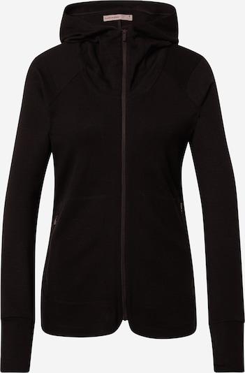 Sportinis džemperis iš Icebreaker , spalva - juoda, Prekių apžvalga