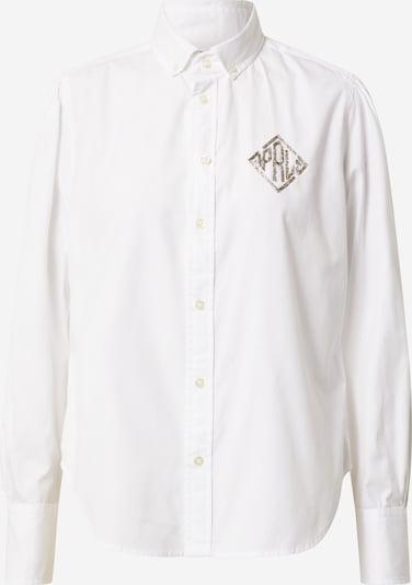 POLO RALPH LAUREN Bluza 'BRIA' u bijela: Prednji pogled