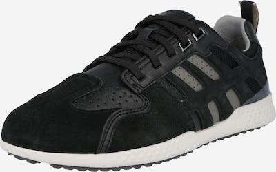 GEOX Platform trainers 'U Snake.2' in Stone / Black, Item view