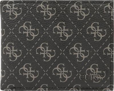 GUESS Geldbörse 'VEZZOLA' in taupe / schwarz, Produktansicht