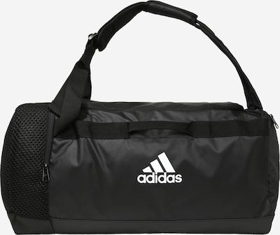 ADIDAS PERFORMANCE Sportovní taška - černá: Pohled zepředu