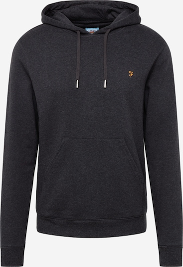 FARAH Sweater majica 'Zain' u crna melange, Pregled proizvoda