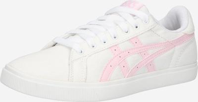 ASICS SportStyle Baskets basses en rose / blanc, Vue avec produit