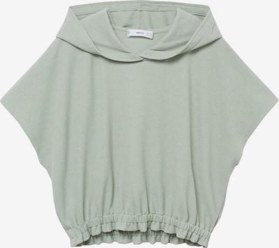 MANGO Sweatshirt in pastellgrün, Produktansicht