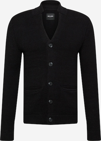 Only & Sons Knit cardigan 'LAZLO' in Black