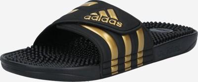 ADIDAS PERFORMANCE Plážové / kúpacie topánky 'ADISSAGE' - zlatá / čierna, Produkt