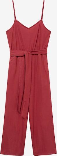 MANGO Jumpsuit 'DOMENICO' in de kleur Cranberry, Productweergave