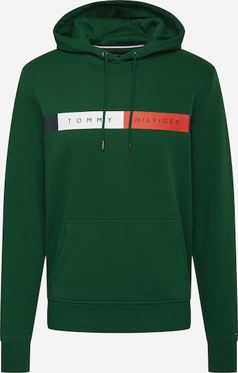Bluză de molton TOMMY HILFIGER pe navy / verde / roșu / alb, Vizualizare produs