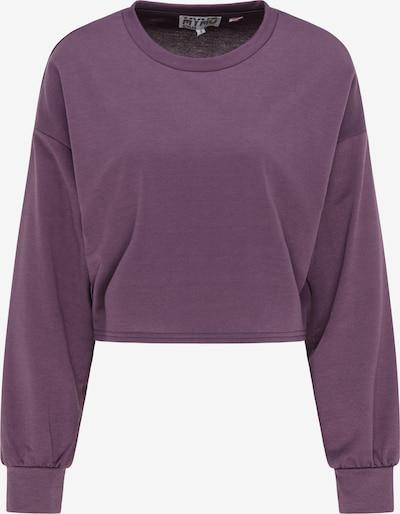 myMo ATHLSR Sportsweatshirt in lila, Produktansicht