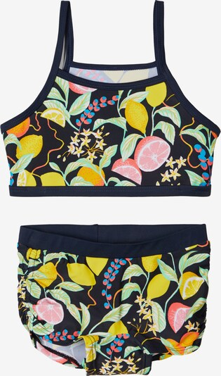 NAME IT Bikini in saphir / dunkelblau / gelb / rosa, Produktansicht