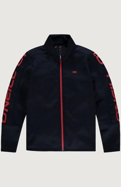 O'NEILL Sportjacke 'Full Zip Fleece' in blau / dunkelblau / blutrot, Produktansicht