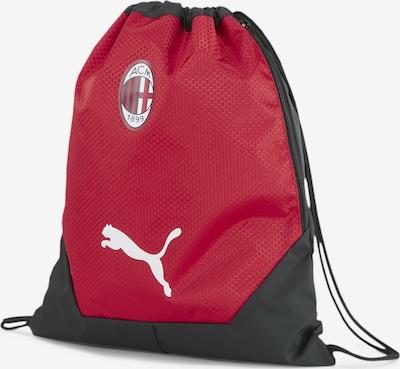 PUMA Sac de sport 'AC Milan' en rouge / noir / blanc, Vue avec produit