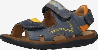 GEOX Sandale in blau / orange, Produktansicht