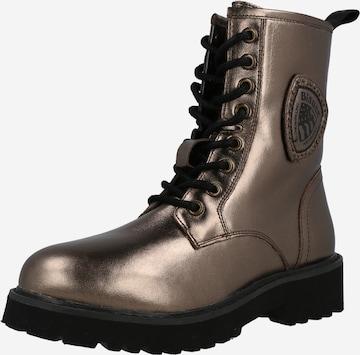 bronzinė Blauer.USA Suvarstomieji kulkšnis dengiantys batai 'IRVINE'
