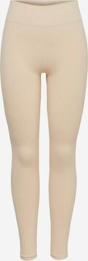 ONLY PLAY Pantalon de sport en beige, Vue avec produit