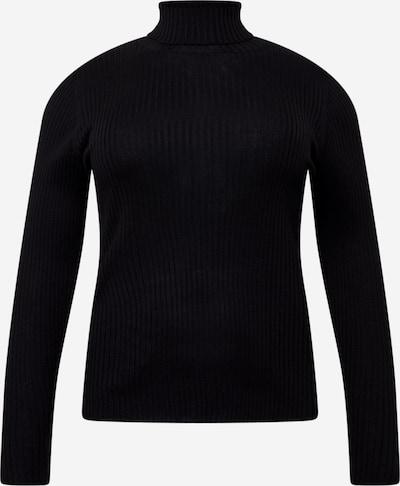 Pulover Selected Femme Curve pe negru, Vizualizare produs