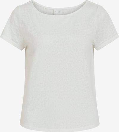 VILA Shirt 'Anita' in de kleur Lichtgrijs / Wit, Productweergave