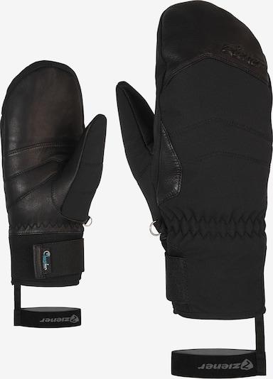 ZIENER Skihandschuhe 'KALEA AS(R) AW' in schwarz, Produktansicht
