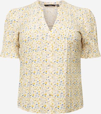 Vero Moda Curve Blusa 'CILA' en beige / azul oscuro / amarillo / rojo, Vista del producto
