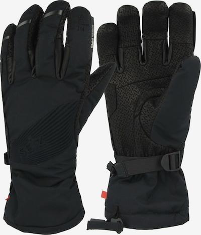 Seiz Handschuhe in dunkelblau / schwarz, Produktansicht