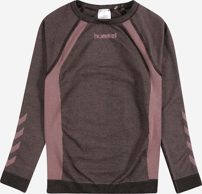 Hummel Functioneel shirt in de kleur Lichtroze / Roodviolet, Productweergave