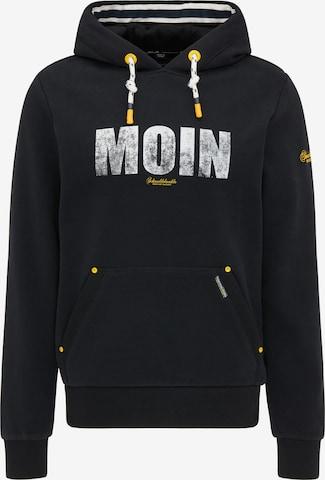 Schmuddelwedda Sweatshirt in Schwarz