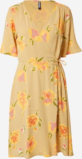 PIECES Obleka 'TIANNA' | pesek / mešane barve barva, Prikaz izdelka