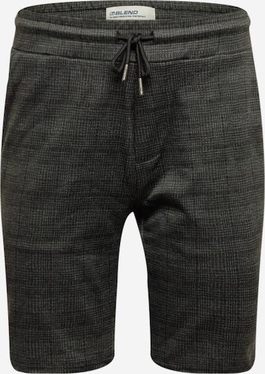 BLEND Kalhoty - šedá / černá, Produkt