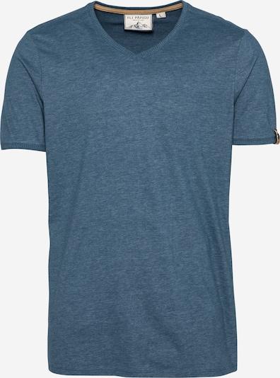 Fli Papigu Shirt 'We Go Underground' in blaumeliert, Produktansicht