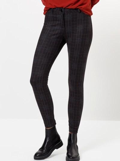 zero Hose in braun / grau / anthrazit, Modelansicht