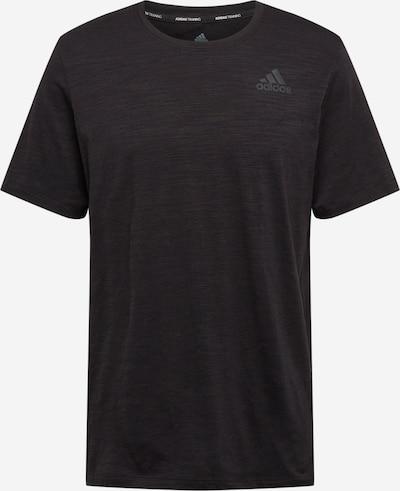 ADIDAS PERFORMANCE T-Shirt fonctionnel 'City Elevated' en noir / argent, Vue avec produit