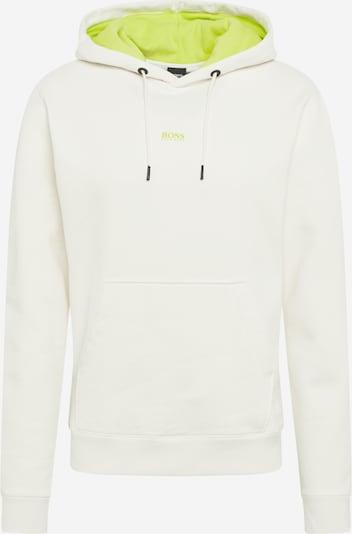Megztinis be užsegimo 'Weedo' iš BOSS , spalva - šviesiai žalia / balta, Prekių apžvalga