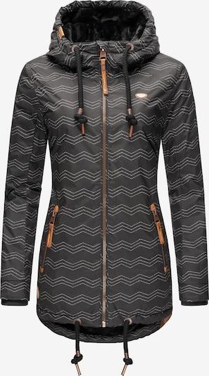 Ragwear Winterjacke 'Zuzka' in schwarz, Produktansicht