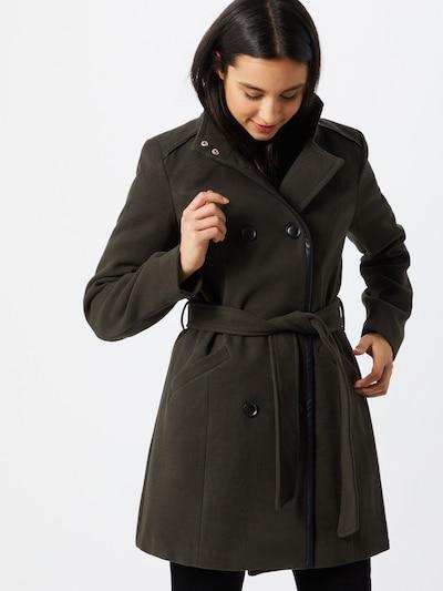 VERO MODA Mantel 'Veronica' in dunkelgrün / schwarz, Modelansicht