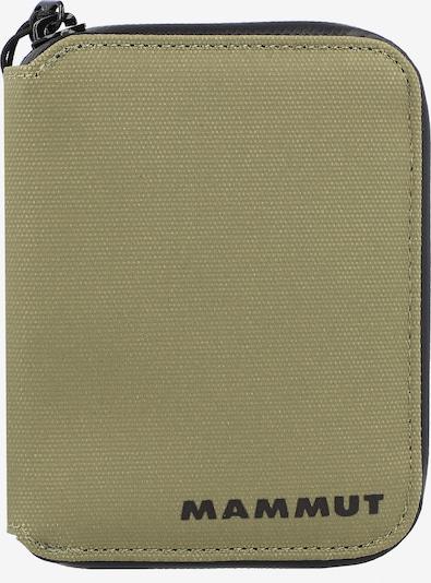 MAMMUT Portemonnaie 'Seon' in oliv / schwarz, Produktansicht