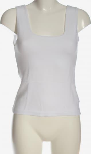 ZABAIONE ärmellose Bluse in S in weiß, Produktansicht