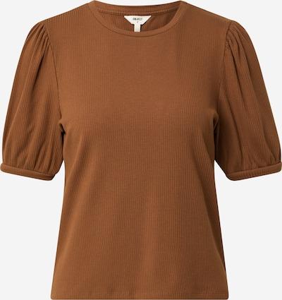 OBJECT Shirt 'Jamie' in de kleur Bruin, Productweergave